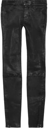 J Brand L8001 Leather Skinny Pants