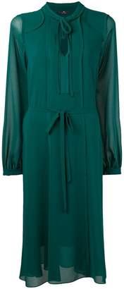 Paul Smith longsleeved sheer dress