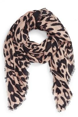 Women's Bp. Leopard Print Scarf $19 thestylecure.com
