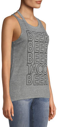 Chaser Beer Taco Muscle Tee