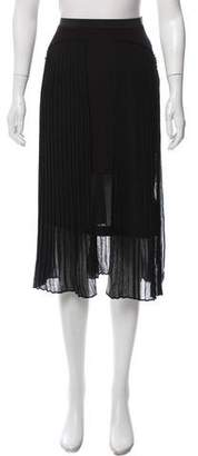 Avelon Pleated Midi Skirt