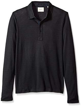 Billy Reid Men's Long Sleeve Smith Polo