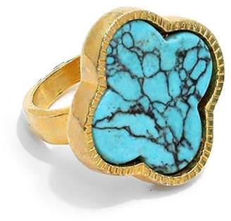Wild Lilies Jewelry Turquoise Clover Ring