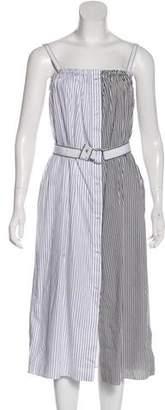 Victoria Beckham Victoria Striped Midi Dress