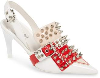 Jeffrey Campbell Vicious-2 Studded Loafer Pump