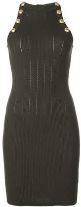 Balmain fitted knitted dress