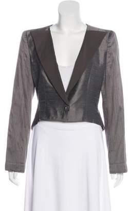 Emporio Armani Structured Silk Blazer
