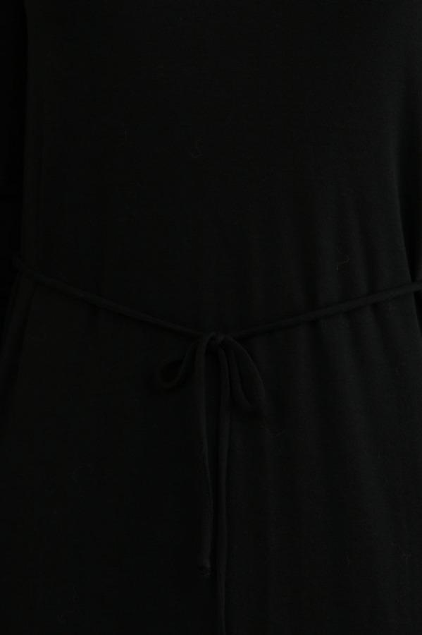Lanston V Neck Mini in Black