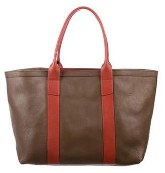 Lotuff Leather Leather Shopper Tote