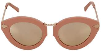 Karen Walker Lunar Flowerpatch Mirror Sunglasses