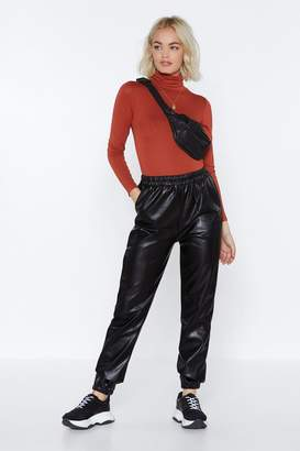 Nasty Gal Saturday Night Faux Leather Pants