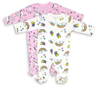 Rosie Pope Baby Baby's Printed Two-Piece Footie Set $32 thestylecure.com