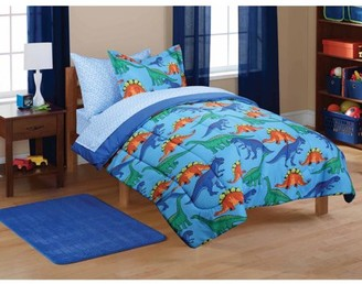 Mainstays Kids' Dinosaur Coordinated Bed in a Bag