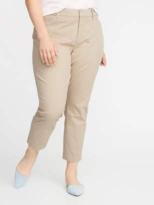 Old Navy Mid-Rise Plus-Size Pixie Chinos