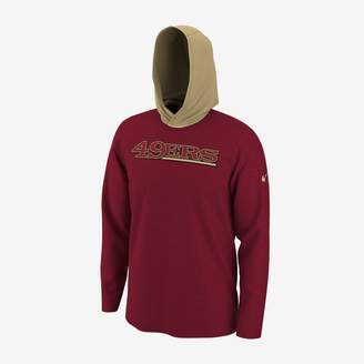 Nike Dri-FIT (NFL 49ers) Men's Long-Sleeve Hooded Top