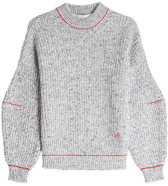 Victoria Beckham Dropped Sleeve Cotton Pullover