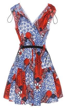 Stella McCartney Printed cotton minidress