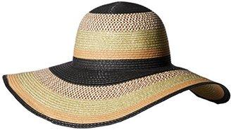 Collection XIIX Women's Lurex Striped Floppy Hat $32 thestylecure.com