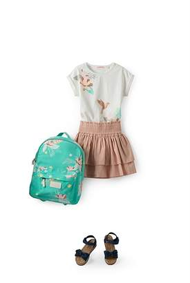 Country Road Tropical Floral Backpack