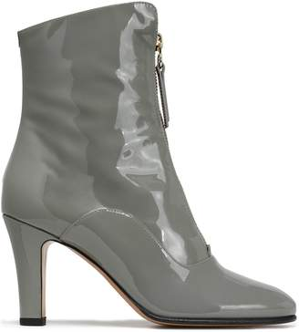 14e9f187f04 Valentino Patent-leather Ankle Boots
