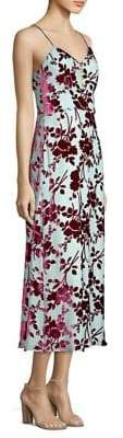 Yigal Azrouel Floral Slip Dress