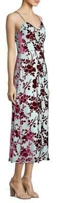 Yigal Azrouel Floral Slip Dress