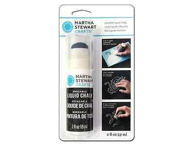 Martha Stewart Crafts Martha Stewart Liquid Chalk Erasable White