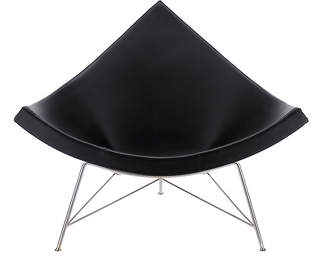 Design Within Reach Herman Miller Nelson Coconut Chair, Black at DWR