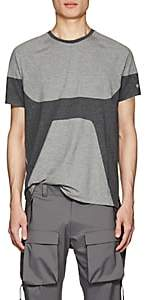 Isaora Men's Welded Stretch-Cotton T-Shirt - Light Gray