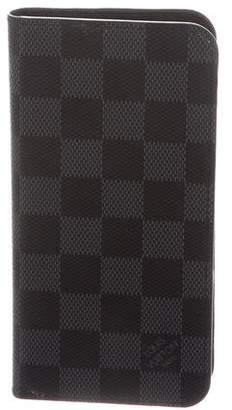 Louis Vuitton Damier Graphite iPhone 7 Plus Folio Case