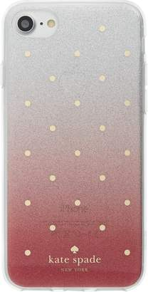 Kate Spade glitter ombre iPhone 7/8 & 7/8 Plus case