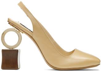 Jacquemus Beige Les Chaussures Conga Heels