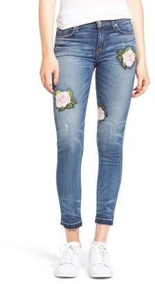 Women's Hudson Jeans Nico Released Hem Ankle Skinny Jeans $265 thestylecure.com
