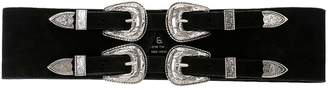 B-Low the Belt Baby Frank Corset Suede Belt