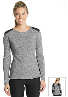 Calvin Klein Quilted Accent Tee