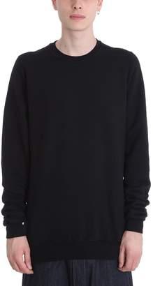 Drkshdw Crewneck Black Cotton Sweatshirt
