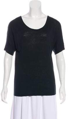 Etoile Isabel Marant Linen Short Sleeve T-Shirt