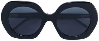 Thom Browne Eyewear oversized rounded sunglasses