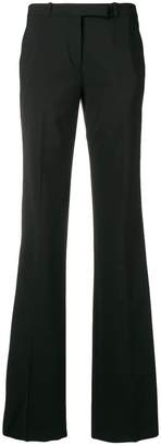 Etro side stripe flared trousers