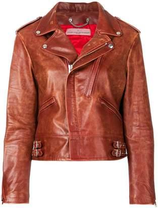 Golden Goose worn in biker jacket