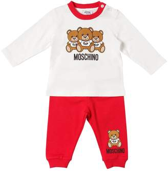 Moschino Toys Cotton Jersey T-Shirt & Pants