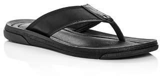Kenneth Cole Men's Yard Leather Flip-Flops