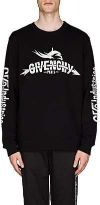 Givenchy Men's Taurus Tour Cotton French Terry Sweatshirt - Black