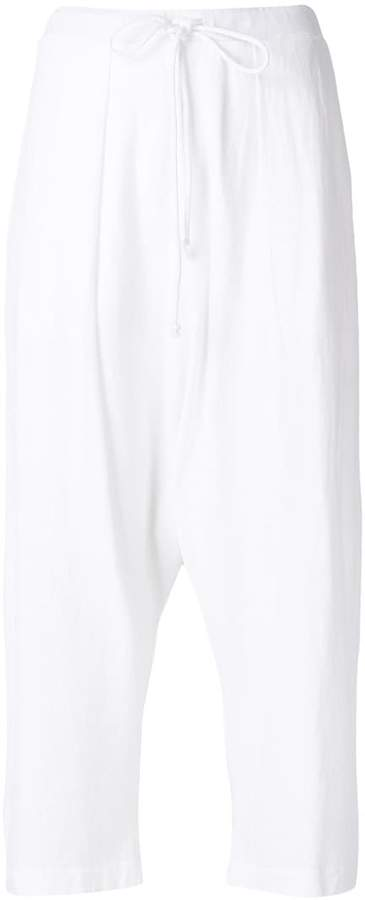Lost & Found Rooms cropped drawstring trousers