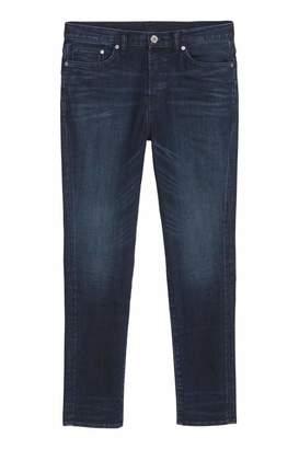 H&M Relaxed Skinny Jeans - Dark blue - Men