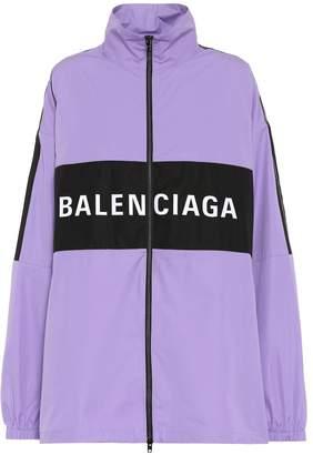 Balenciaga Logo cotton jacket