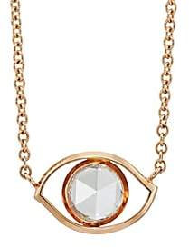 Ambre Victoria Women's Evil Eye Pendant Necklace