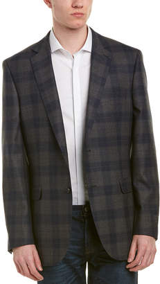 Zanetti Messina Wool Modern Fit Sport Coat