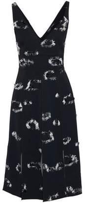 Proenza Schouler Embellished Cutout Crepe Midi Dress