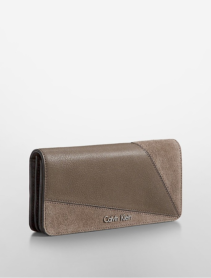 Calvin Klein Lillian Soft Flap Continental Wallet